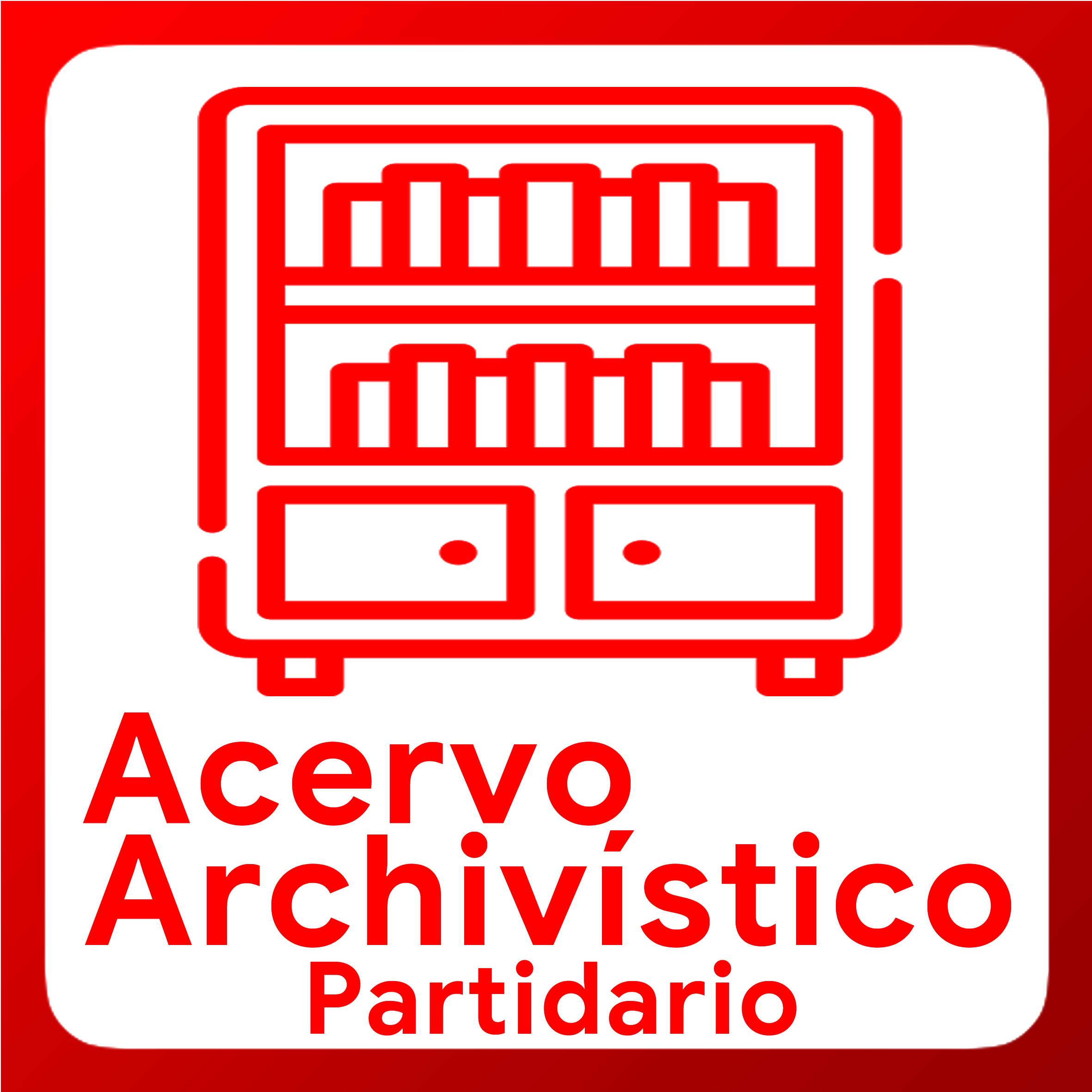 Boton activable de Acervo Archivistico Partidario