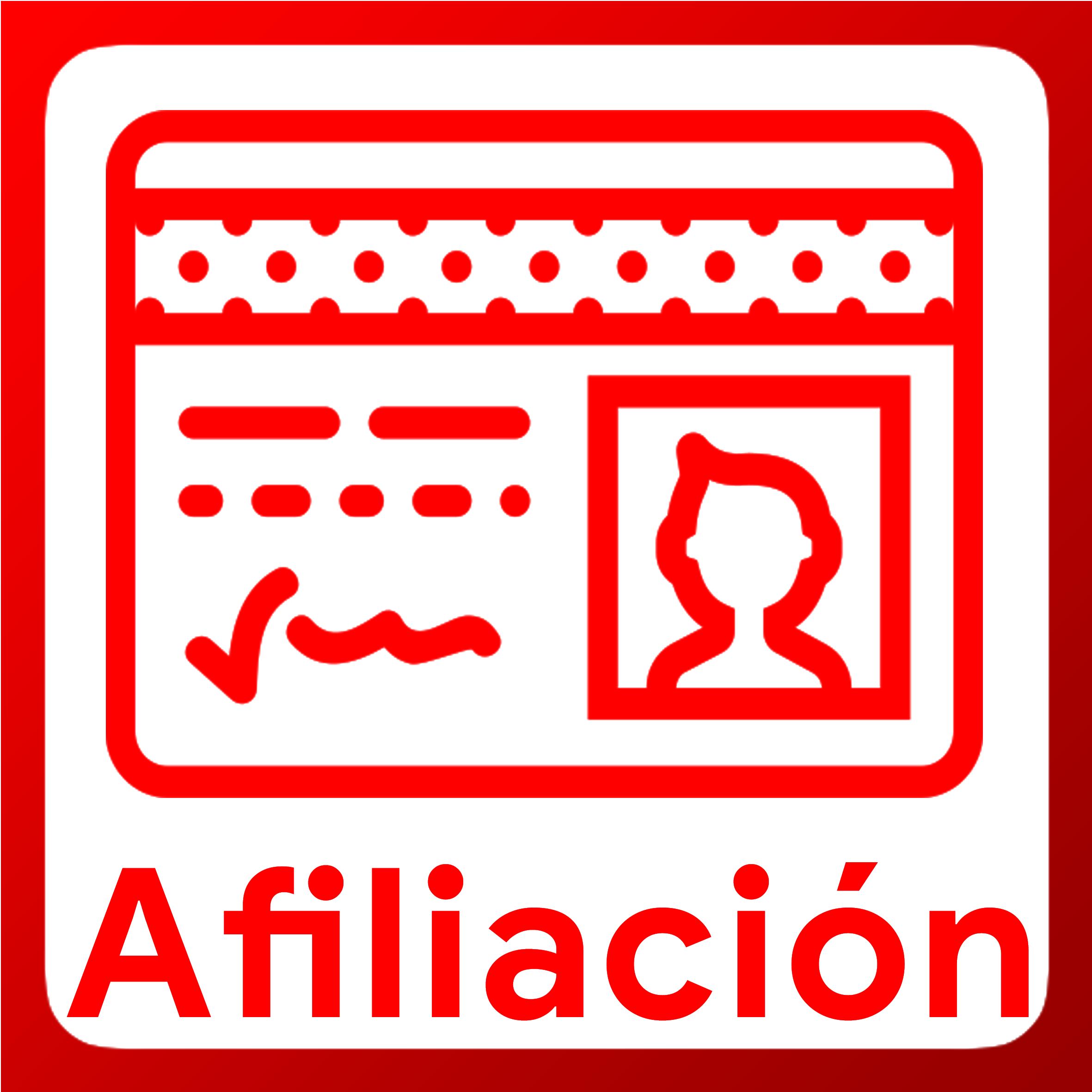 Boton activable de Afiliación