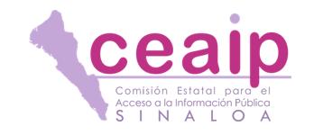 Banner de la Comisión Estatal para el Acceso a la Información Pública de Sinaloa