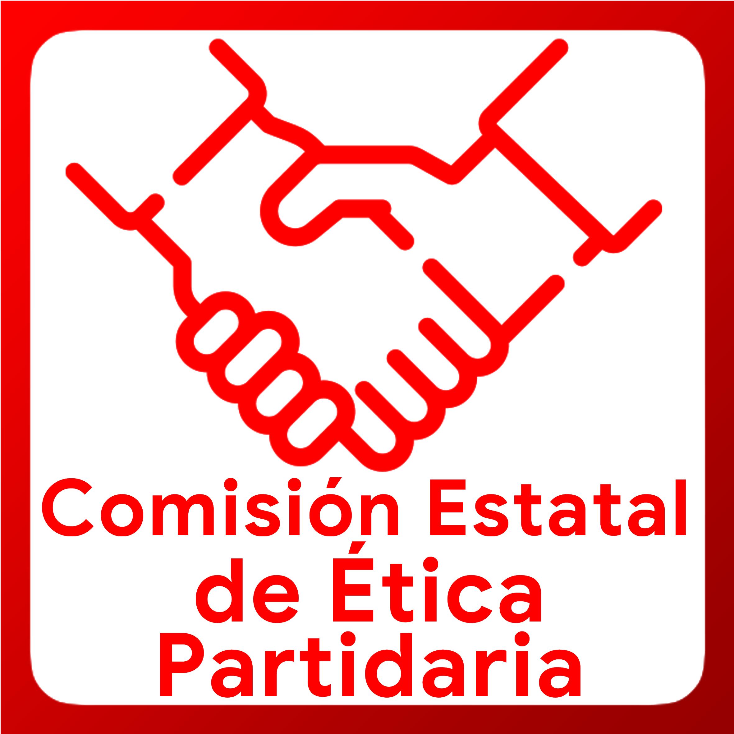 Boton activable de Comision Estatal de Ética Partidaria