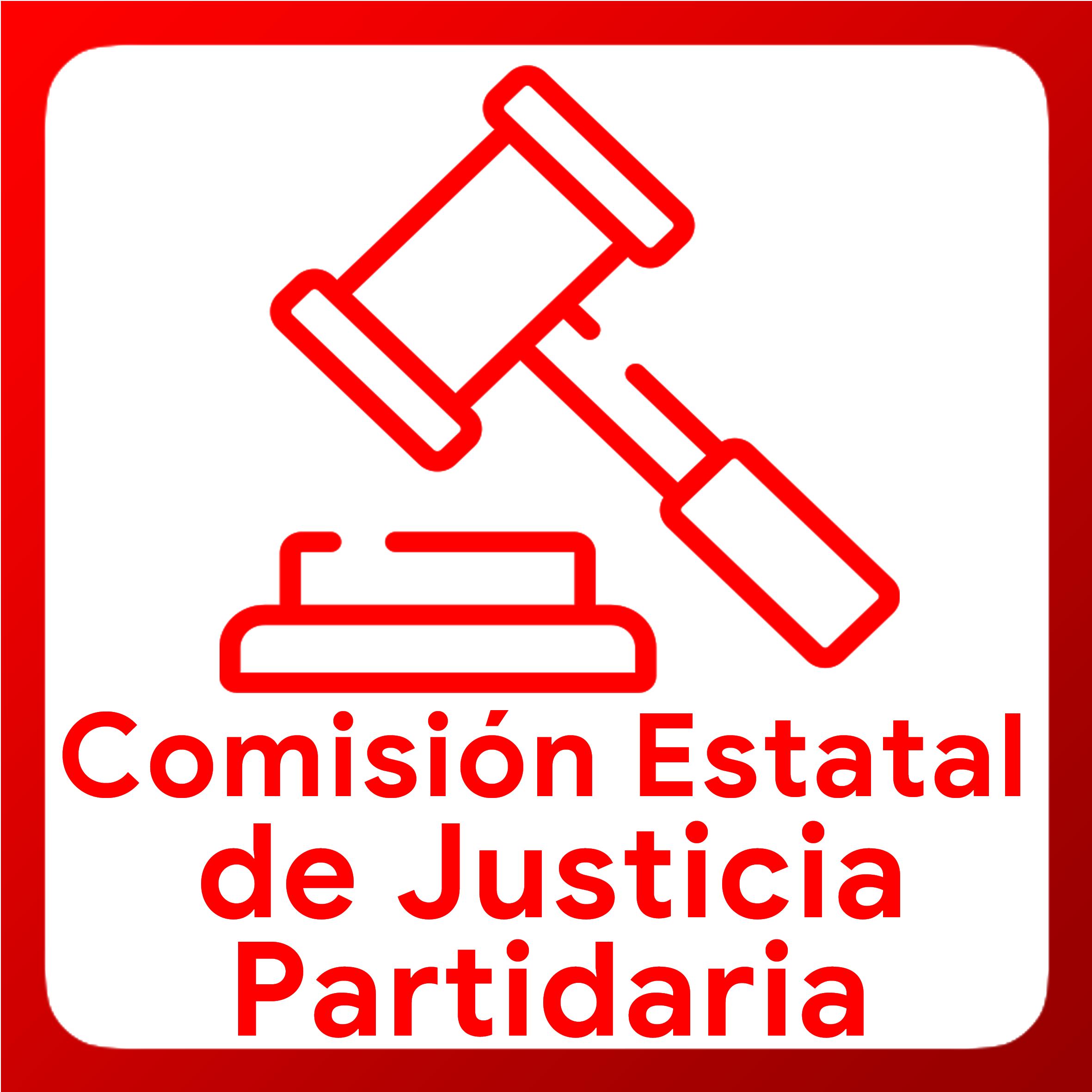 Boton activable de Comision Estatal de Justicia Partidaria