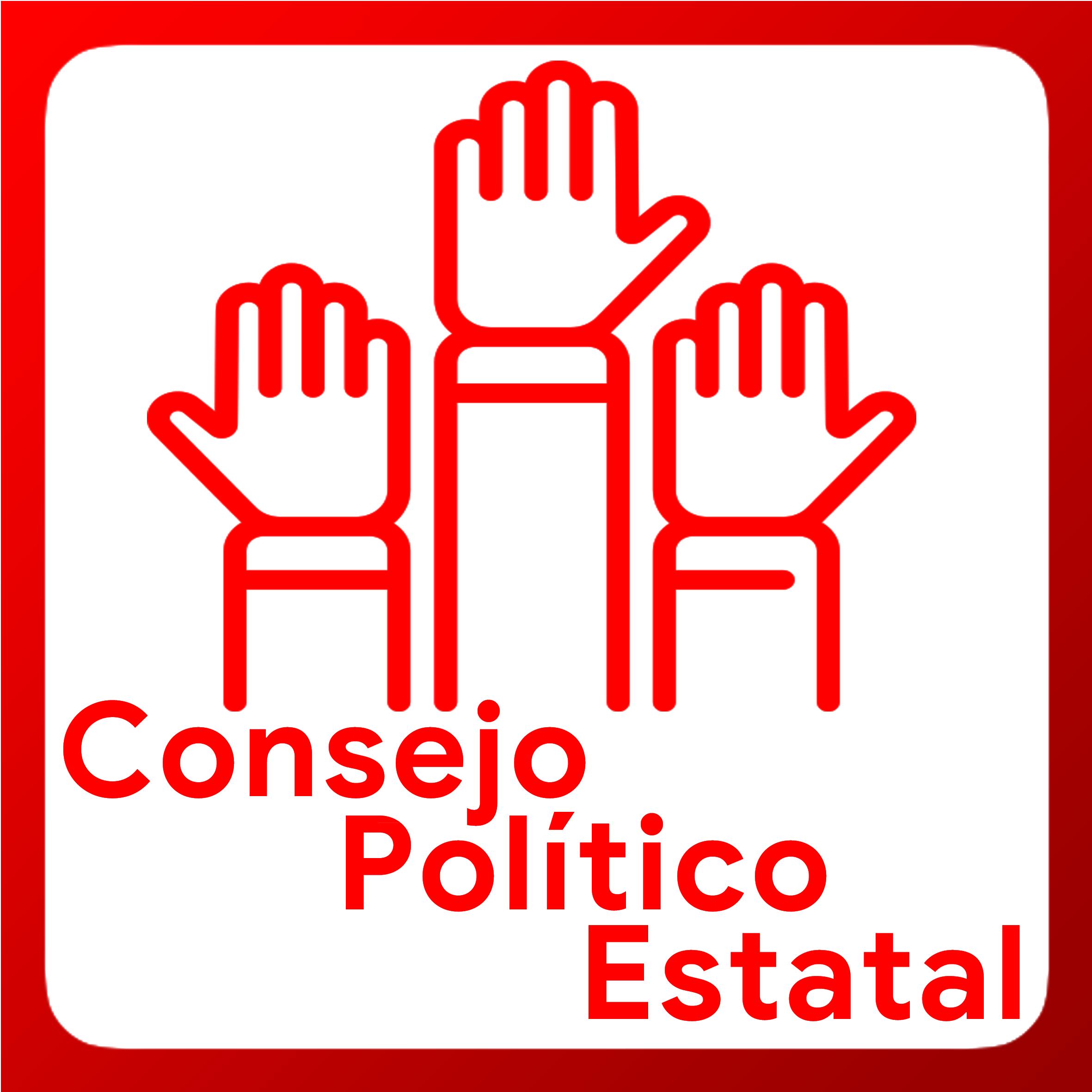 Boton activable de Consejo Politico Estatal