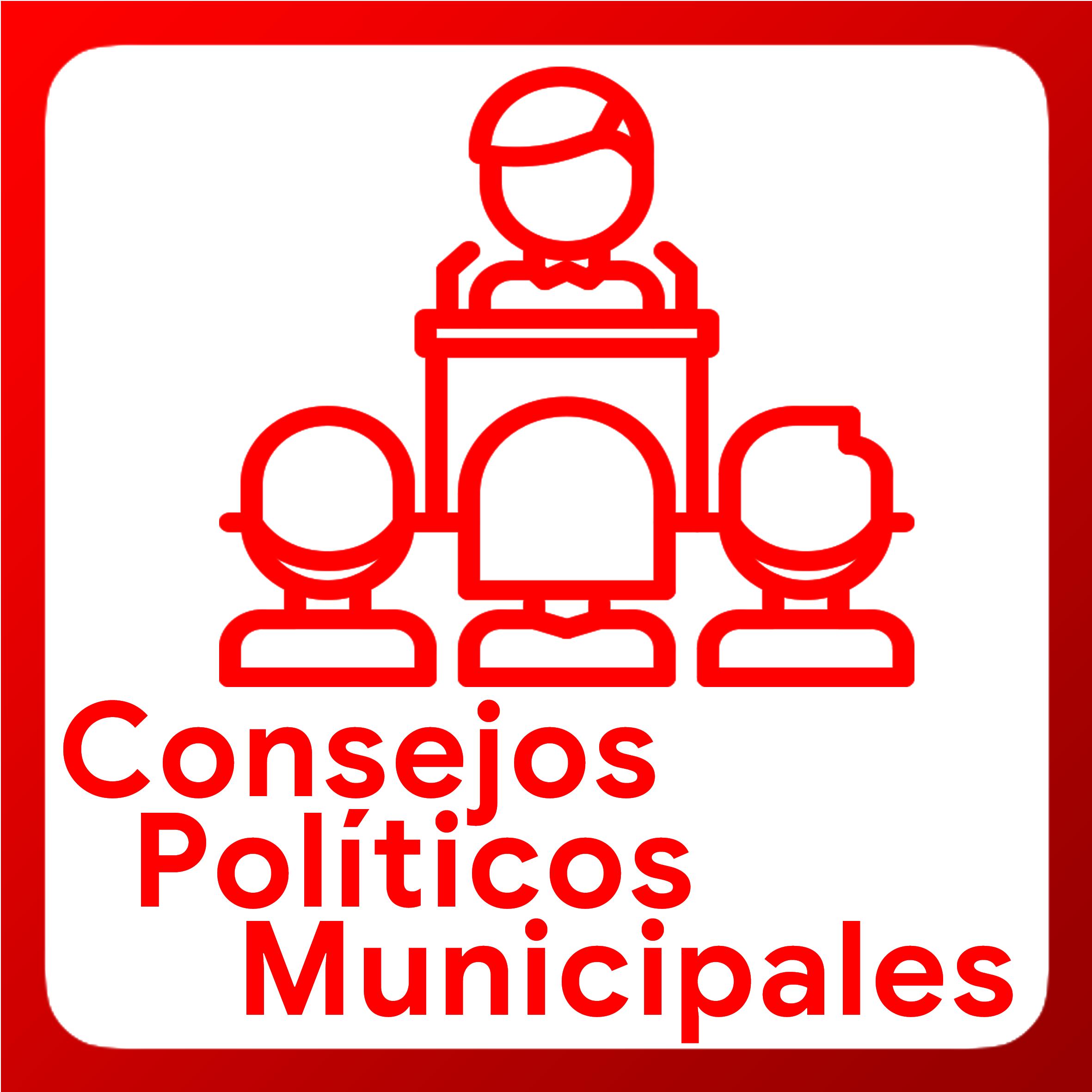 Boton activable de Consejos Políticos Municipales