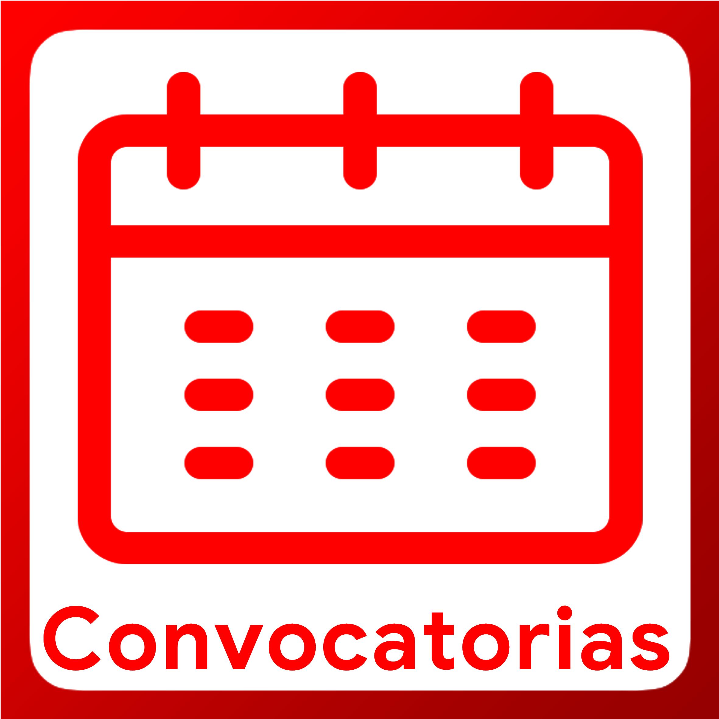 Boton activable de Convocatorias