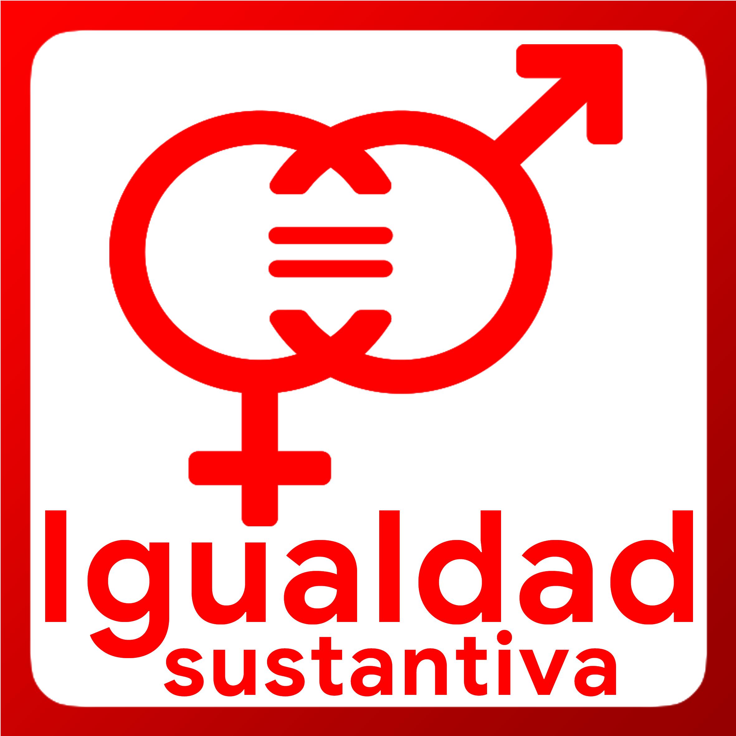 Boton activable de Igualdad Sustantiva