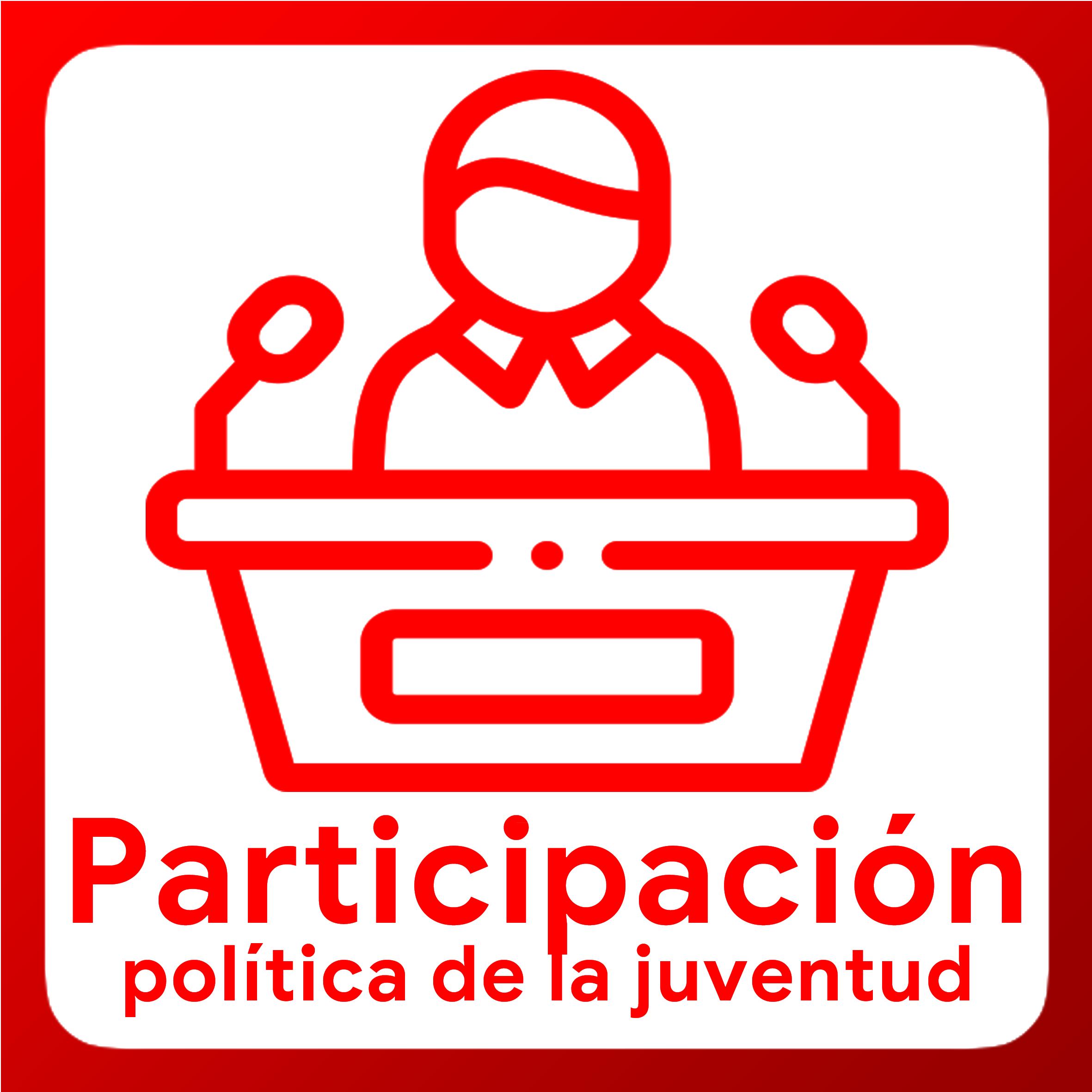 Boton activable de Participación Política de la Juventud