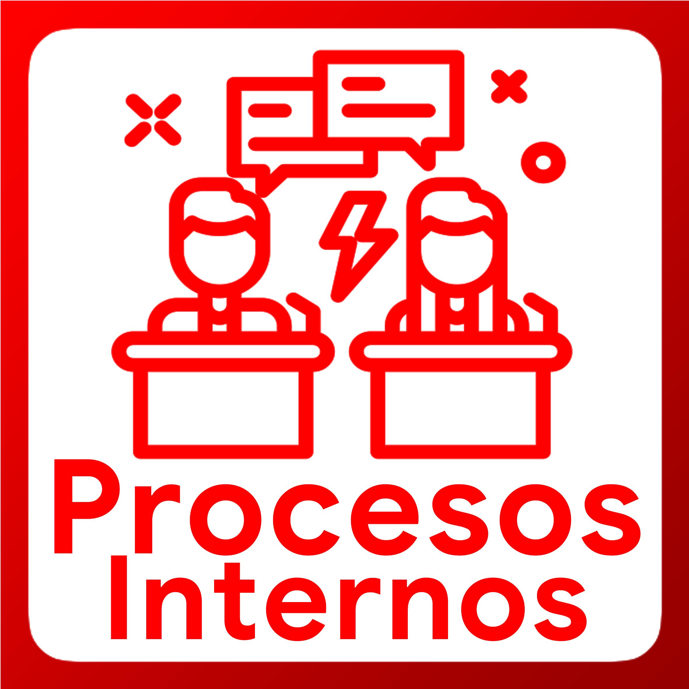 Boton activable de Procesos Internos