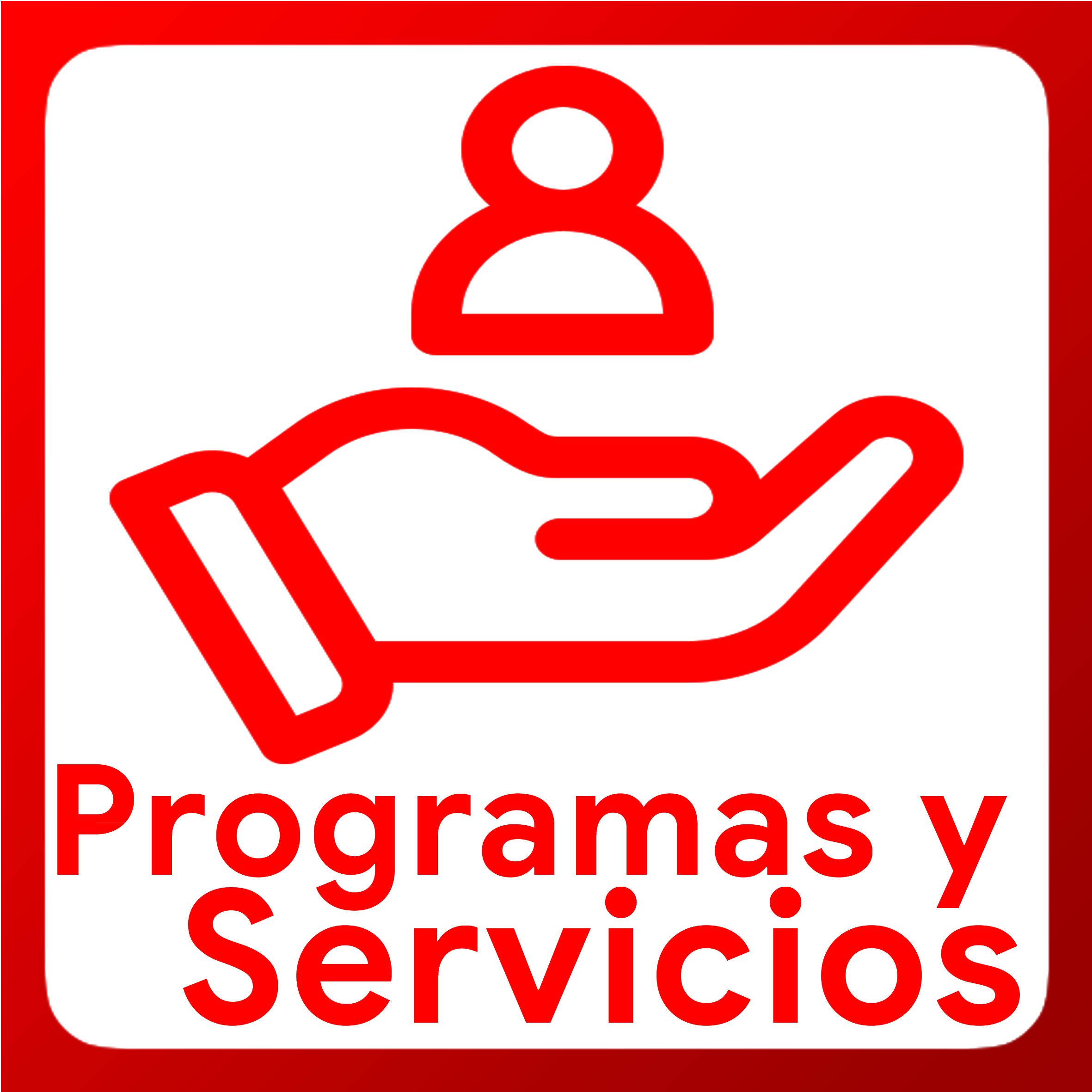 Boton activable de programas y servicios