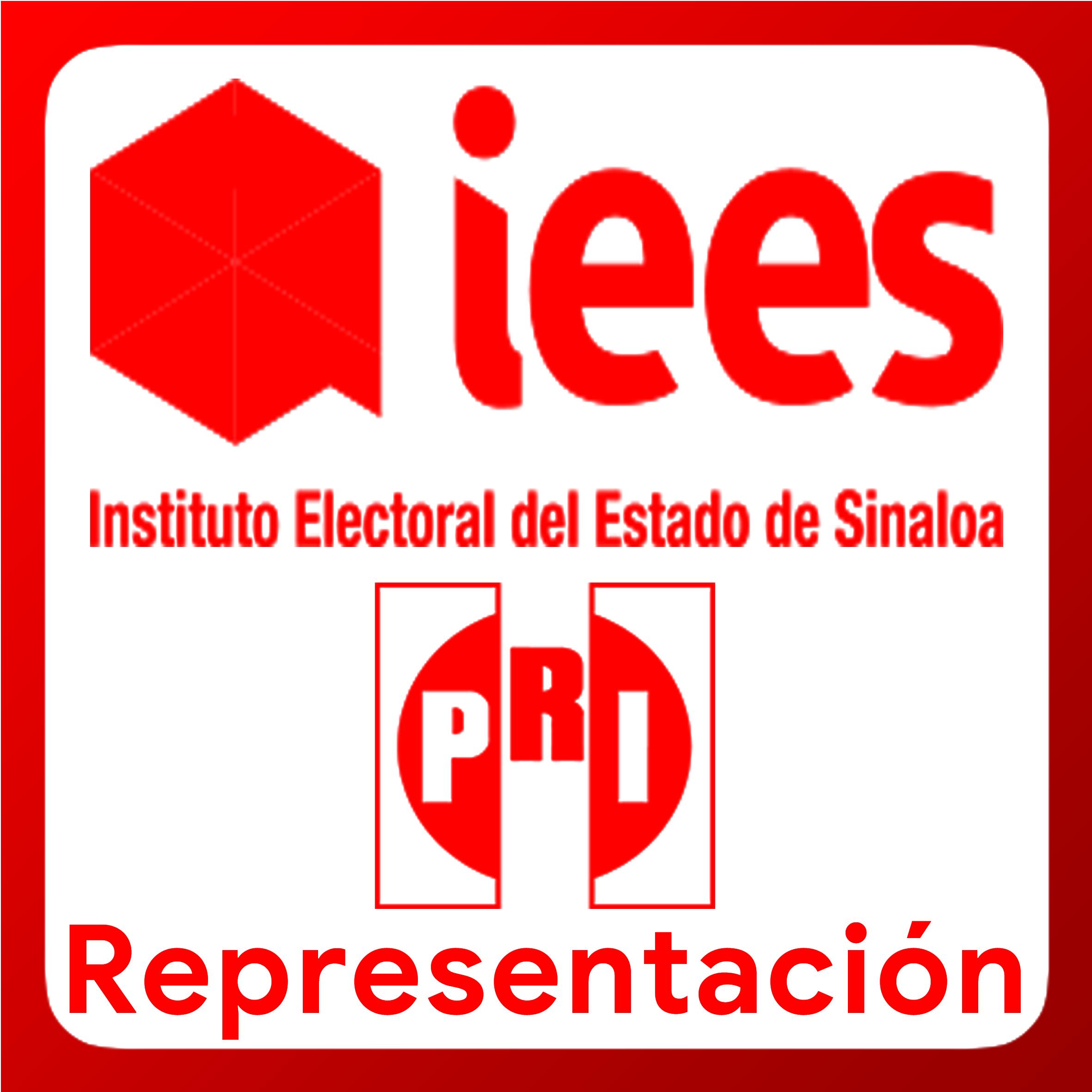 Boton activable de Representación ante los Consejos General, Distritales y Municipales del Instituto Electoral del Estado de Sinaloa