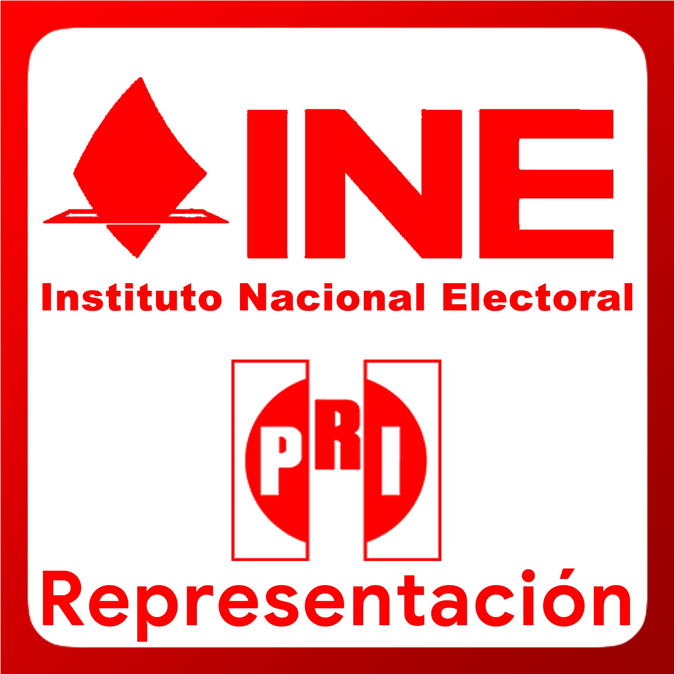 Boton activable de Representación ante los Consejos Local y Distritales, así como ante las Juntas Local y Distritales de Vigilancia del Instituto Nacional Electoral en Sinaloa