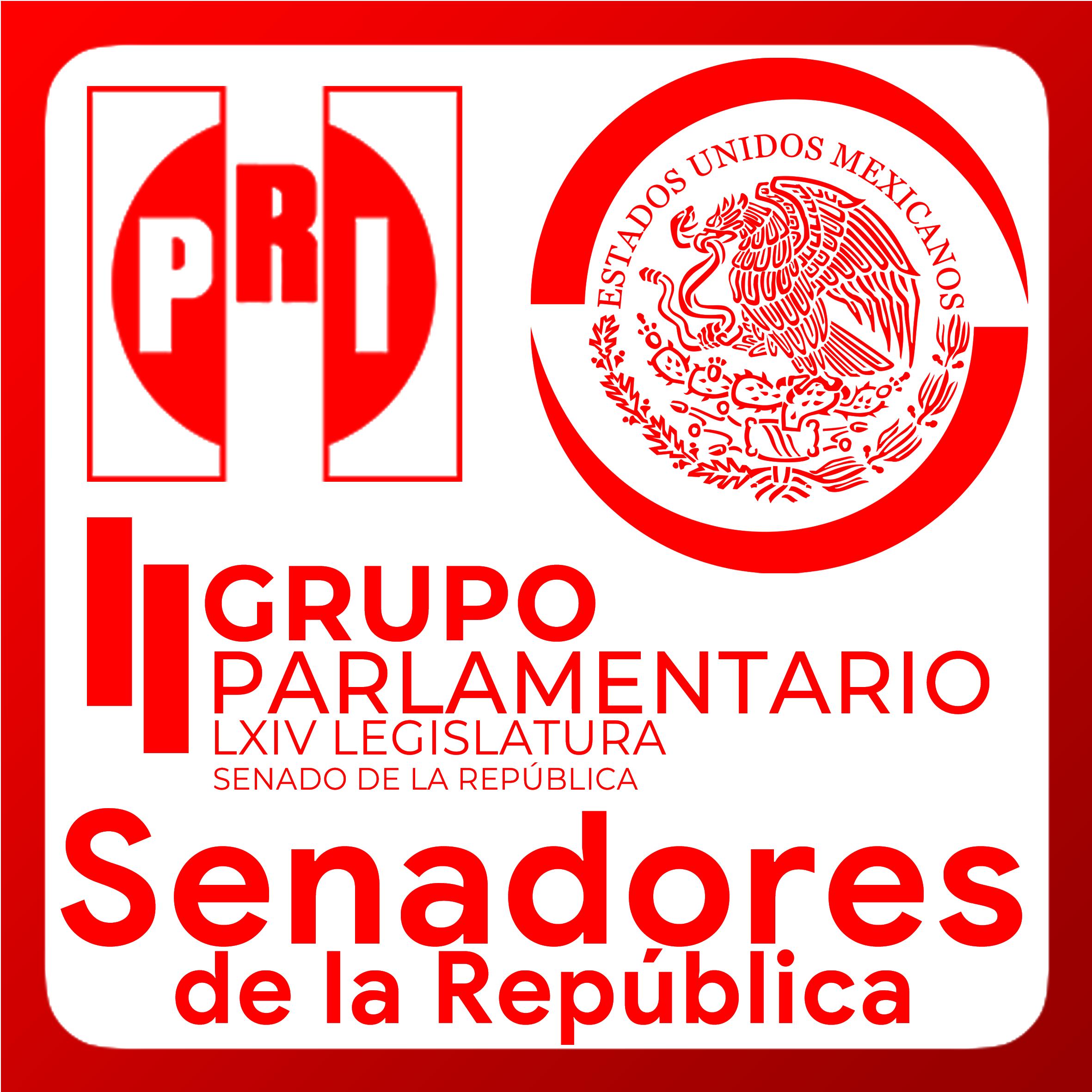 Boton activable de Senadoras y Senadores de la República