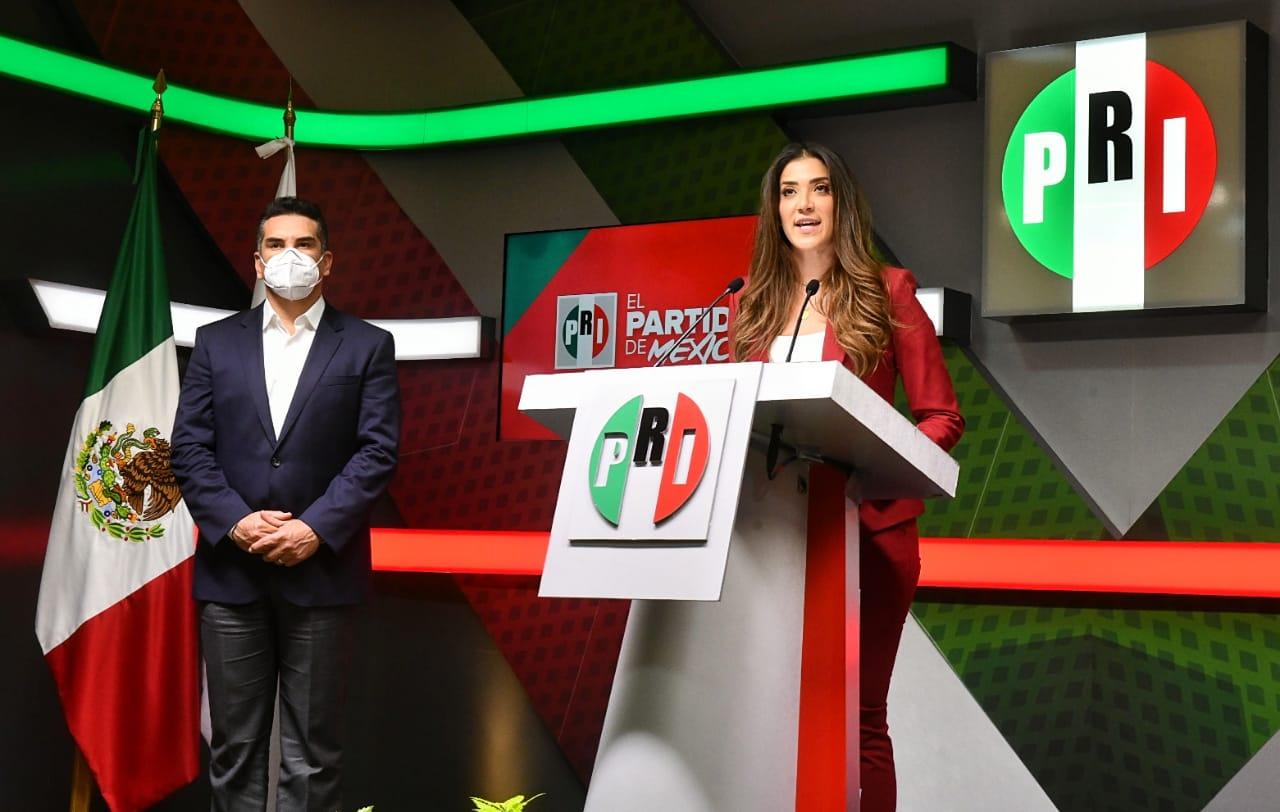 Toma de protesta a Paloma Sánchez Ramos como Presidenta del Movimiento PRI.MX