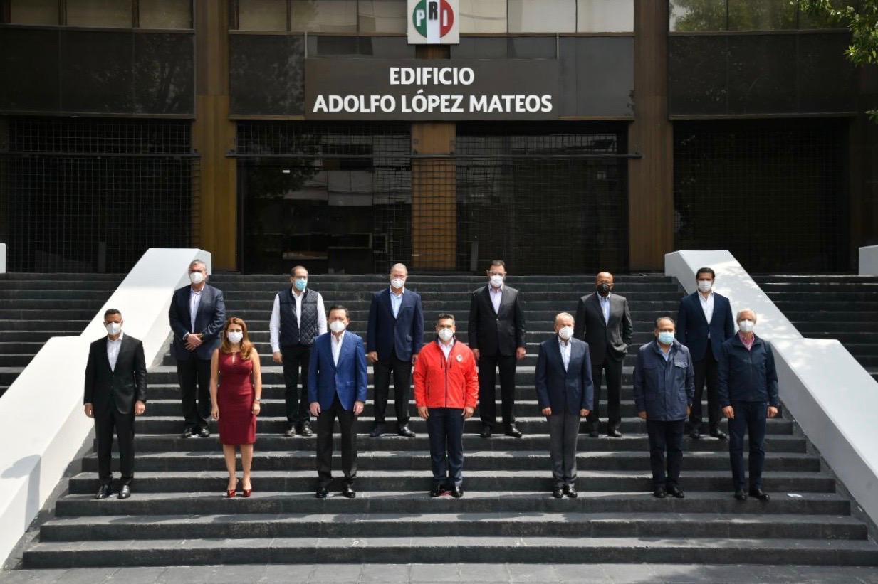 ACUERDA EL PRI TRABAJAR UNIDOS POR MÉXICO